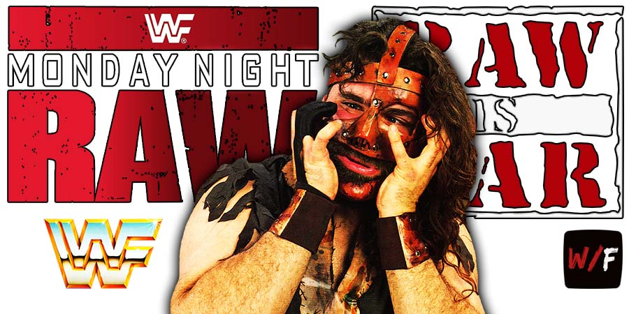 Mick Foley RAW Article Pic 2 WrestleFeed App