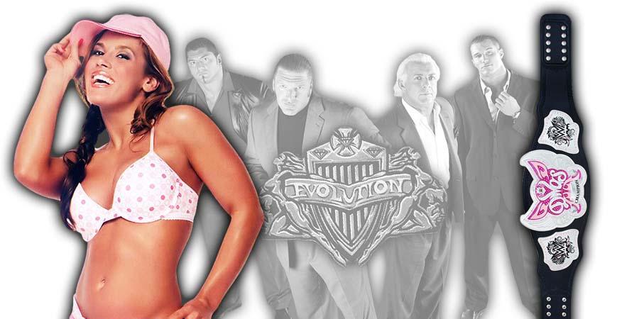 Mickie James WWE Evolution 2018