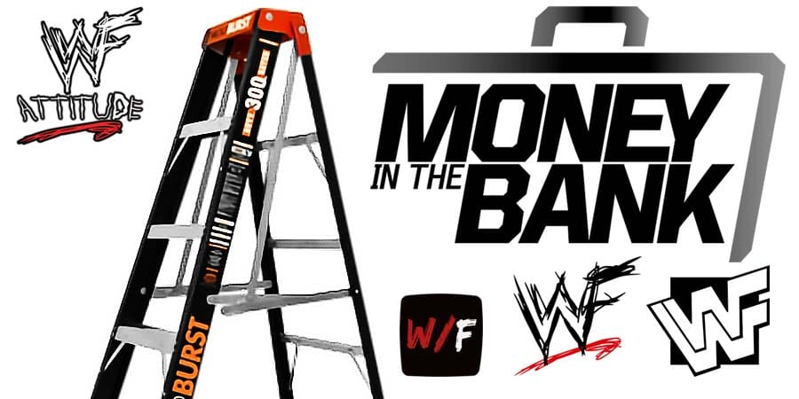 Money In The Bank Ladder Match Article Pic 5 WrestleFeed App