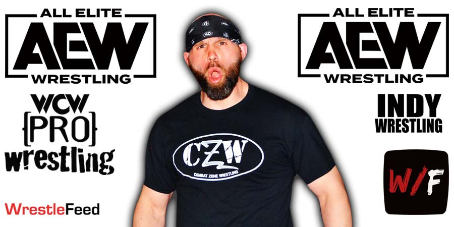 Nick Gage AEW Article Pic 1 WrestleFeed App