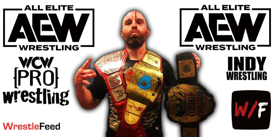 Nick Gage AEW Article Pic 2 WrestleFeed App