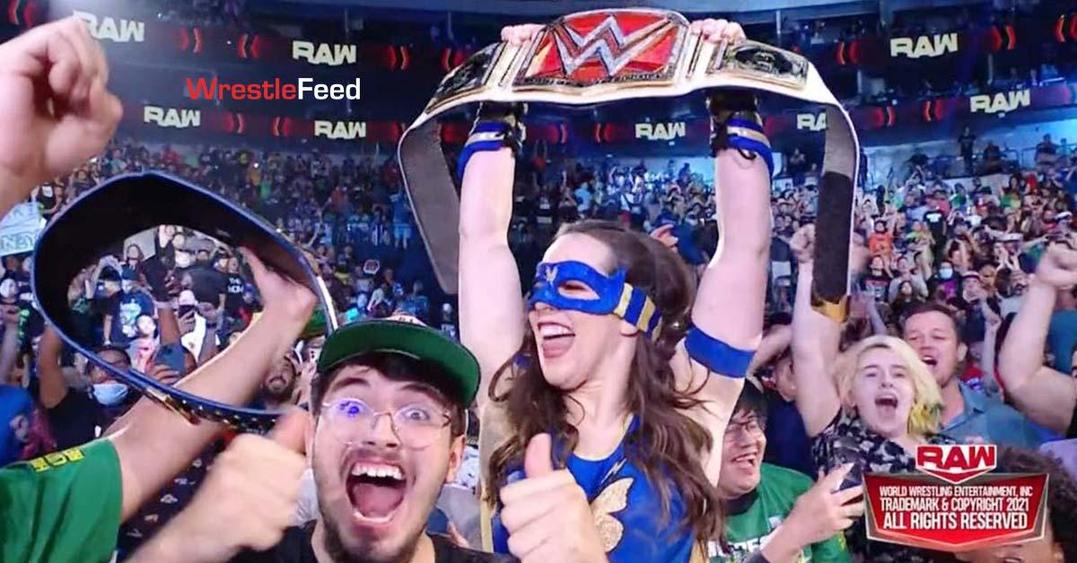 Nikki Cross ASH Wins The RAW Women's Championship WrestleFeed App