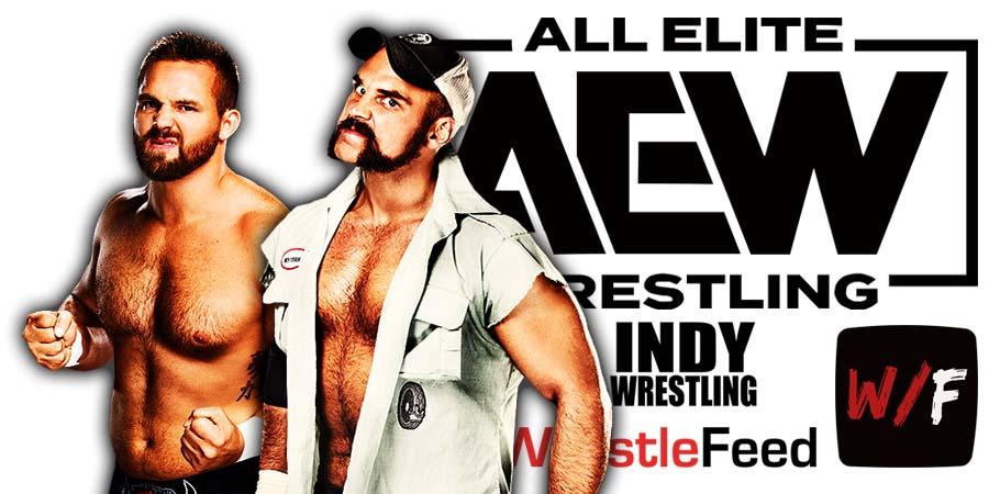 Revival - FTR - Cash Wheeler Dash Wilder - Dax Harwood Scott Dawson AEW Article Pic 2 WrestleFeed App