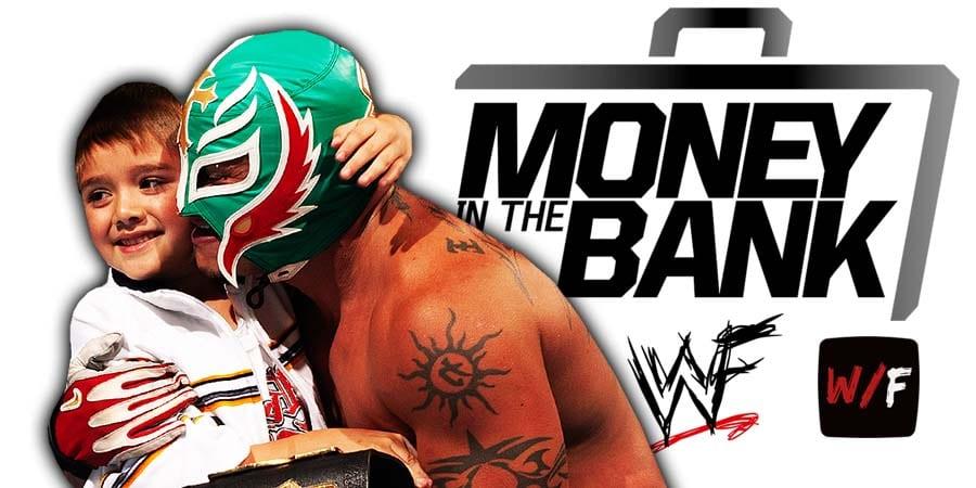 Rey Mysterio & Dominik lose at Money In The Bank 2021 WrestleFeed App