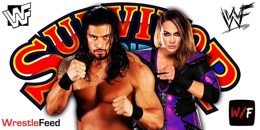 Roman Reigns Nia Jax Backstage Disagreement WWE Survivor Series 2020 WrestleFeed App