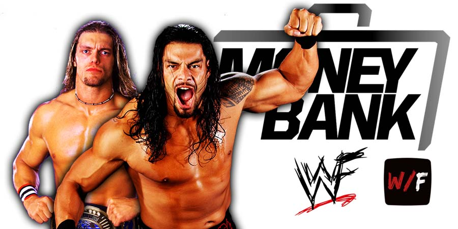 Roman Reigns beats Edge Money In The Bank 2021 WrestleFeed App