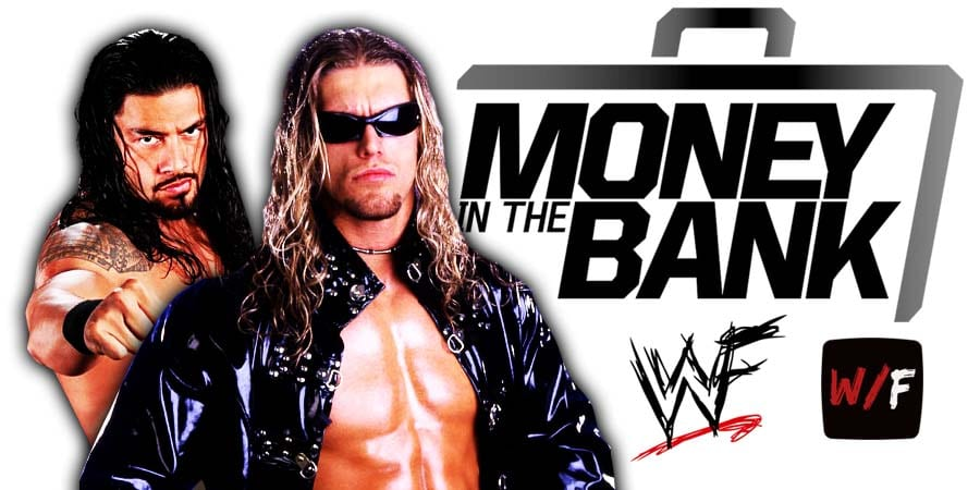 Roman Reigns defeats Edge at Money In The Bank 2021 WrestleFeed App