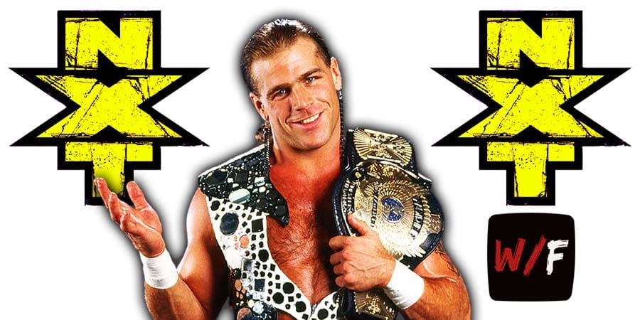 Shawn Michaels NXT Article Pic 1 WrestleFeed App