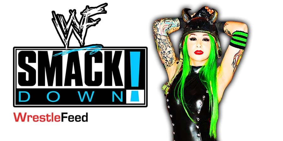 Shotzi Blackheart SmackDown Article Pic 1 WrestleFeed App