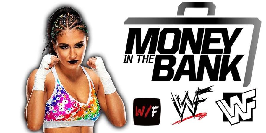 Sonya Deville Money In The Bank 2021 WrestleFeed App