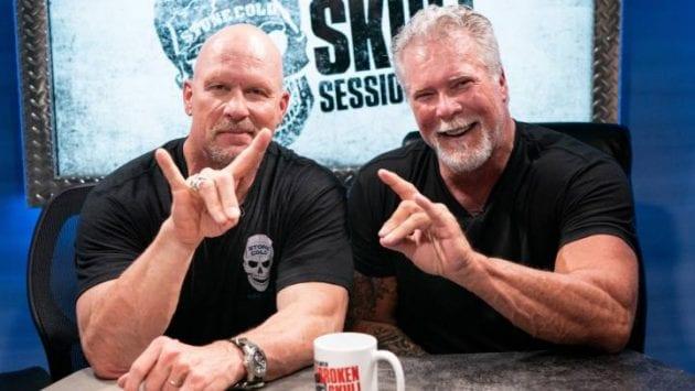 Stone Cold Steve Austin Kevin Nash Too Sweet Sign Broken Skull Sessions WWE Network