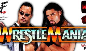 The Rock vs Roman Reigns WWE WrestleMania 38 PPV WrestleFeed App