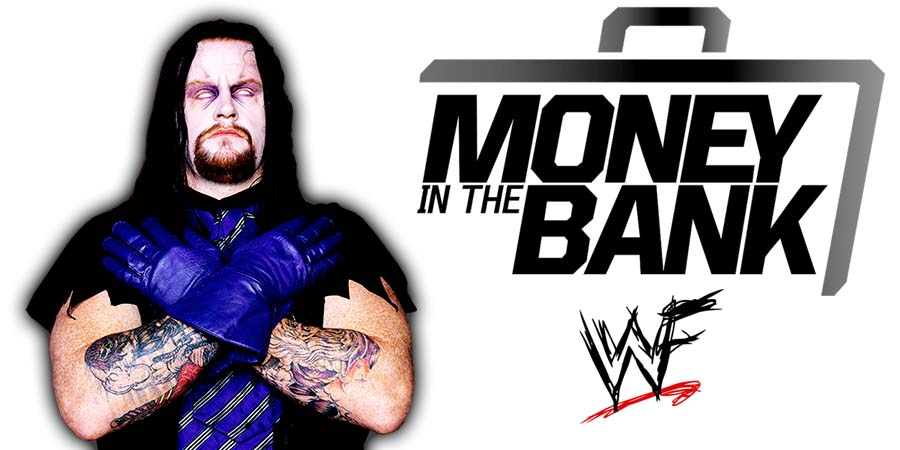 The Undertaker Money In The Bank 2021