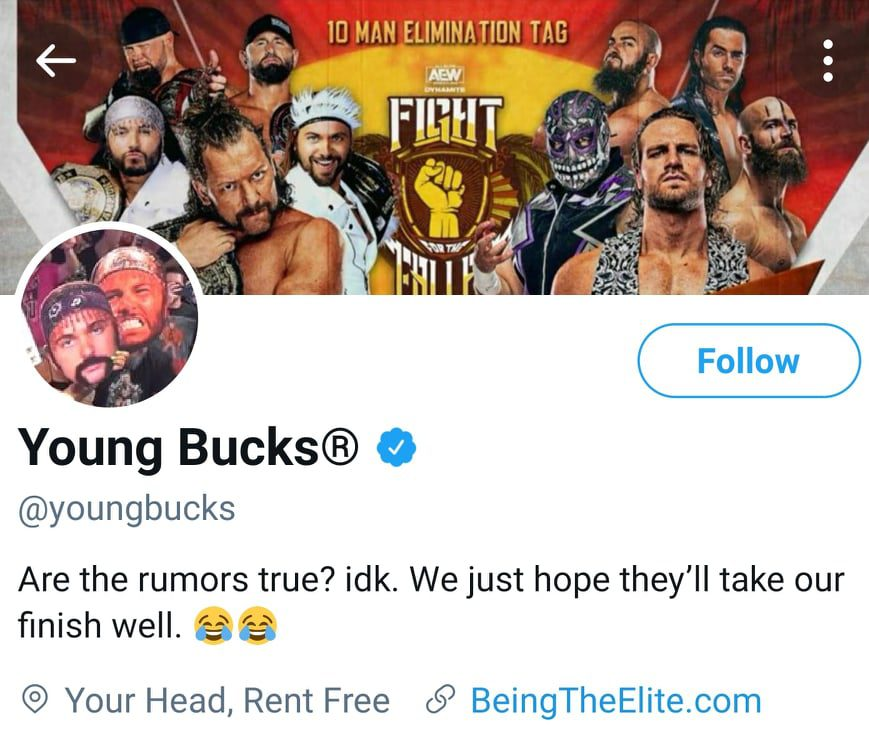 The Young Bucks Comment On Rumors Of CM Punk & Daniel Bryan Signing With AEW