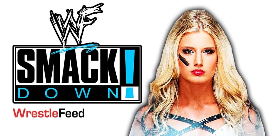 Toni Storm SmackDown Article Pic 1 WrestleFeed App