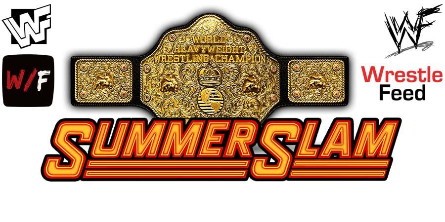 Universal World Title Match SummerSlam WrestleFeed App