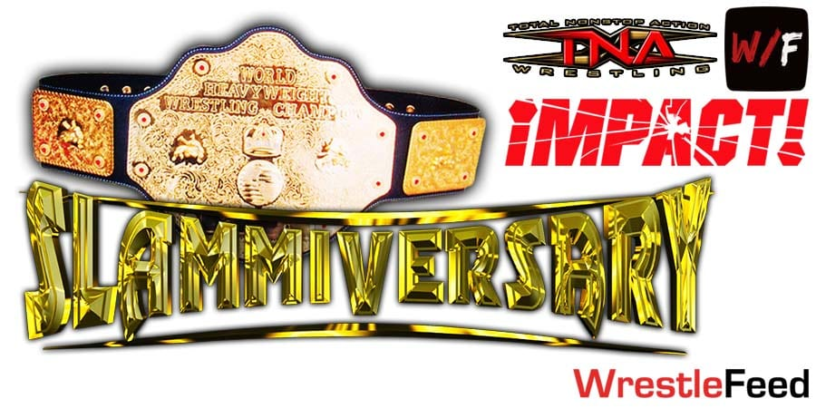 World Title Match Impact Wrestling Slammiversary WrestleFeed App