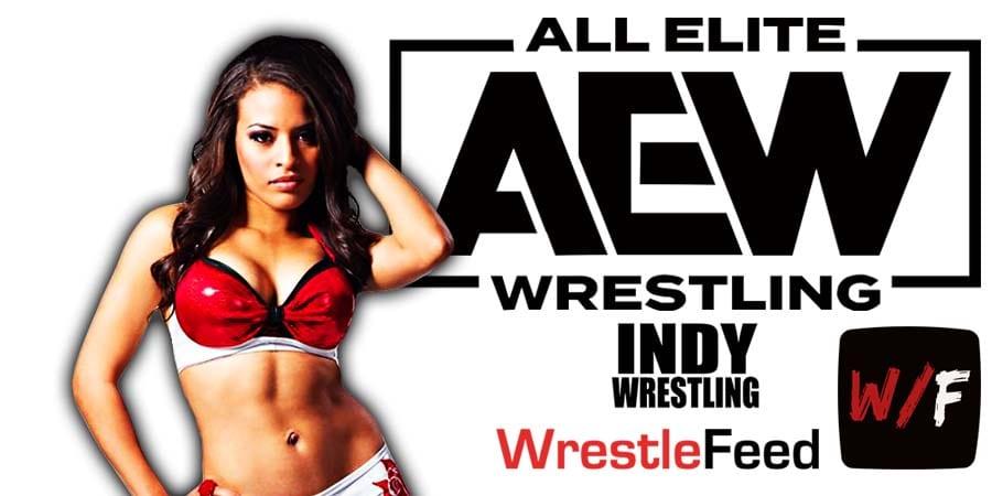 Zelina Vega AEW Article Pic 1 WrestleFeed App