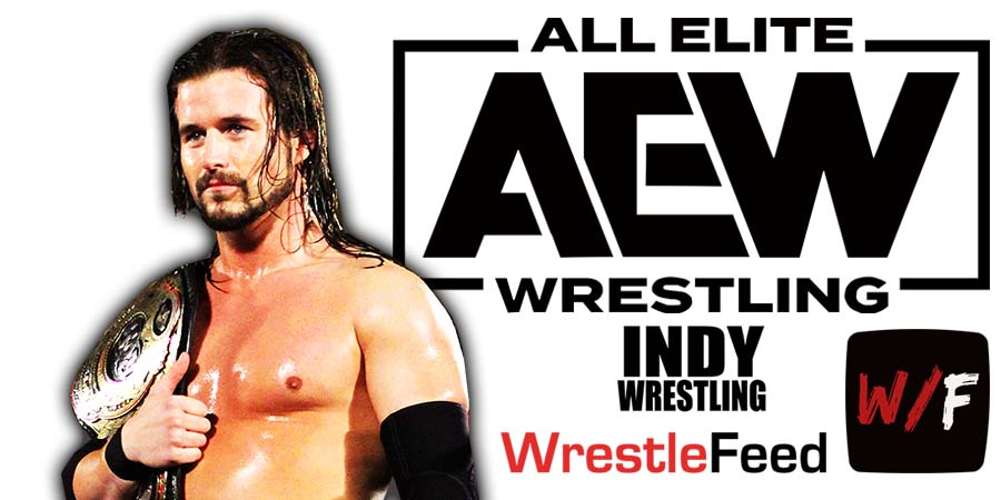Adam Cole AEW Article Pic 2 WrestleFeed App