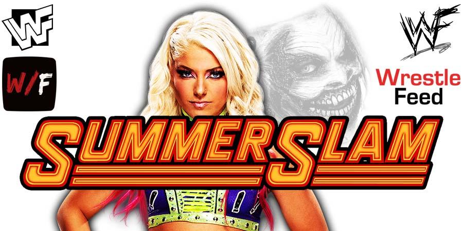 Alexa Bliss SummerSlam 2021 WrestleFeed App