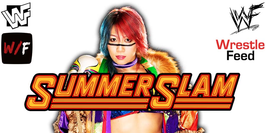 Asuka SummerSlam 2021 WrestleFeed App