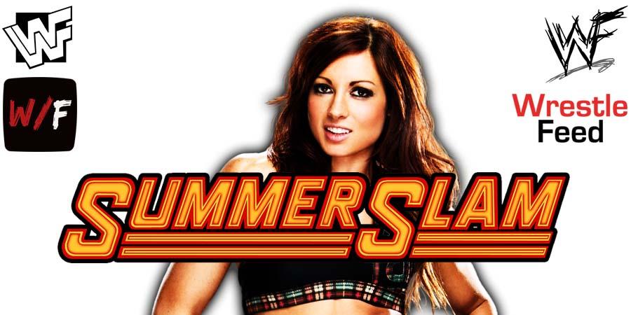 Becky Lynch Comeback SummerSlam 2021 WrestleFeed App