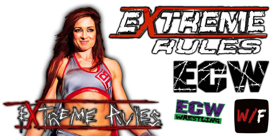 Becky Lynch Extreme Rules 2021 WrestleFeed App