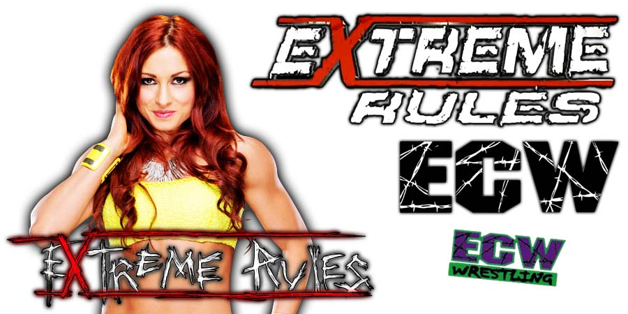 Becky Lynch Extreme Rules 2021