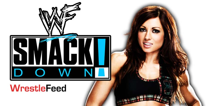 Becky Lynch SmackDown Article Pic 1 WrestleFeed App