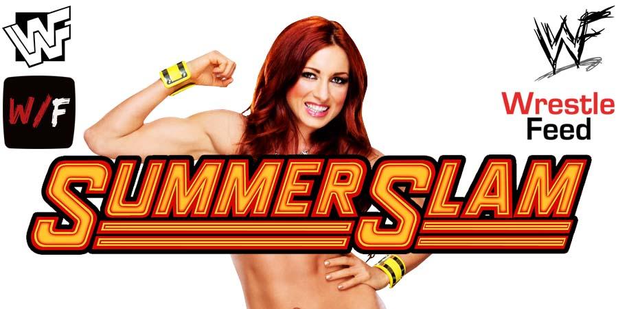 Becky Lynch SummerSlam 2021 WrestleFeed App
