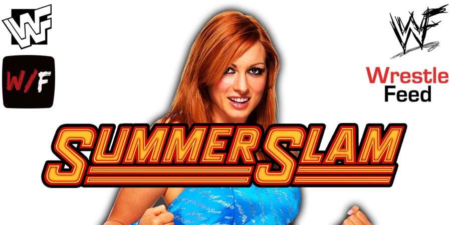 Becky Lynch Wins At SummerSlam 2021 WrestleFeed App