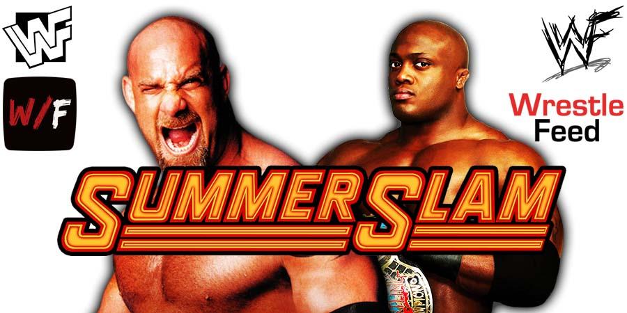 Bobby Lashley vs Goldberg SummerSlam 2021 WrestleFeed App