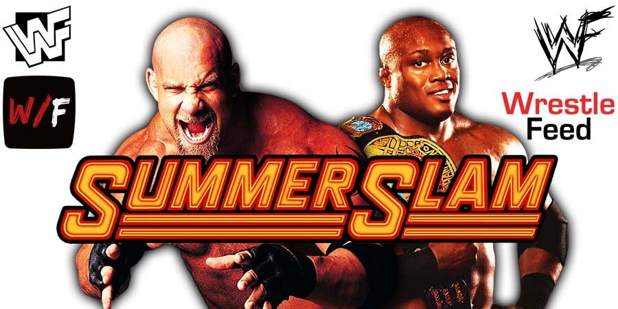 Bobby Lashley vs Goldberg WWE SummerSlam 2021 WrestleFeed App