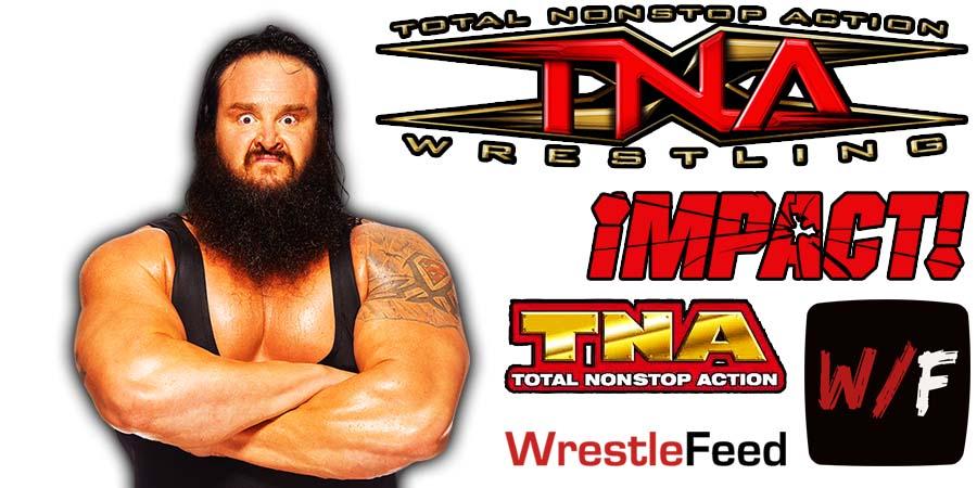 Braun Strowman TNA Impact Wrestling Article Pic 1 WrestleFeed App