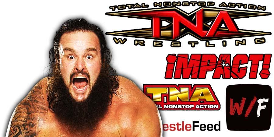 Braun Strowman TNA Impact Wrestling Article Pic 2 WrestleFeed App