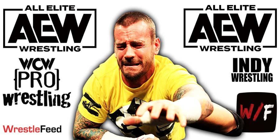 CM Punk AEW Article Pic 10 WrestleFeed App