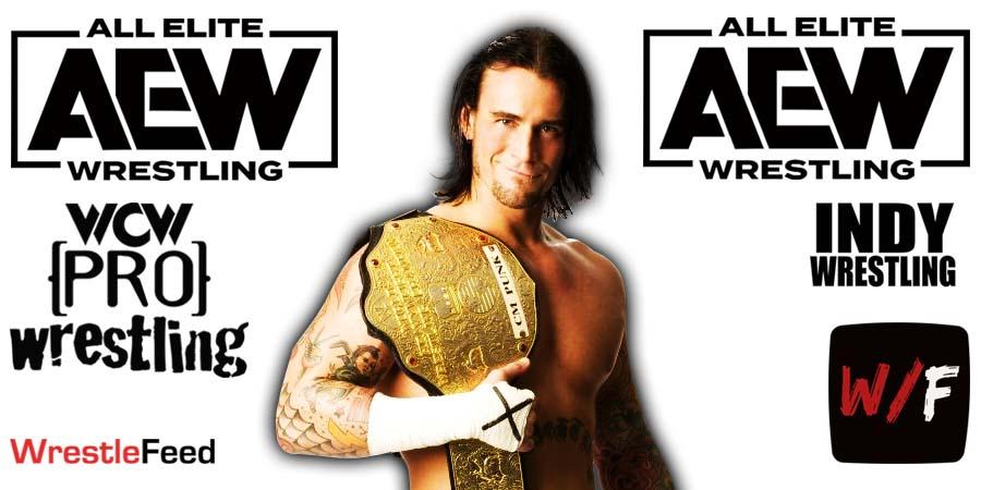 CM Punk AEW Article Pic 11 WrestleFeed App