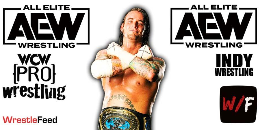 CM Punk AEW Article Pic 12 WrestleFeed App