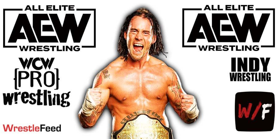 CM Punk AEW Article Pic 14 WrestleFeed App