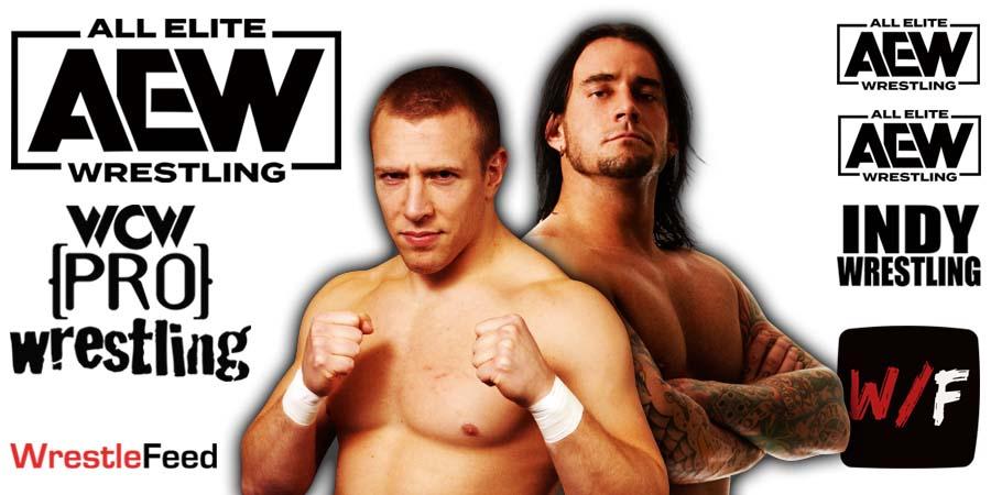 CM Punk Daniel Bryan AEW Article Pic 4 WrestleFeed App