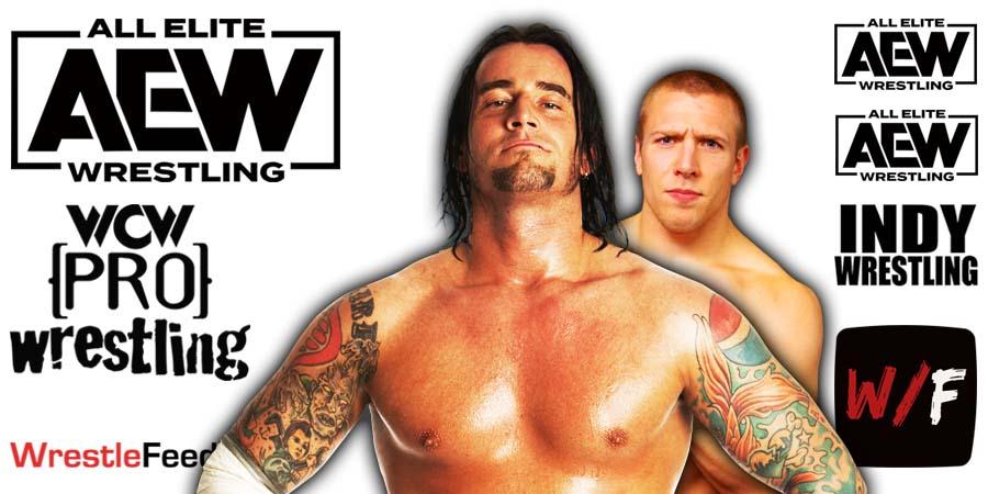 CM Punk Daniel Bryan AEW Article Pic 5 WrestleFeed App