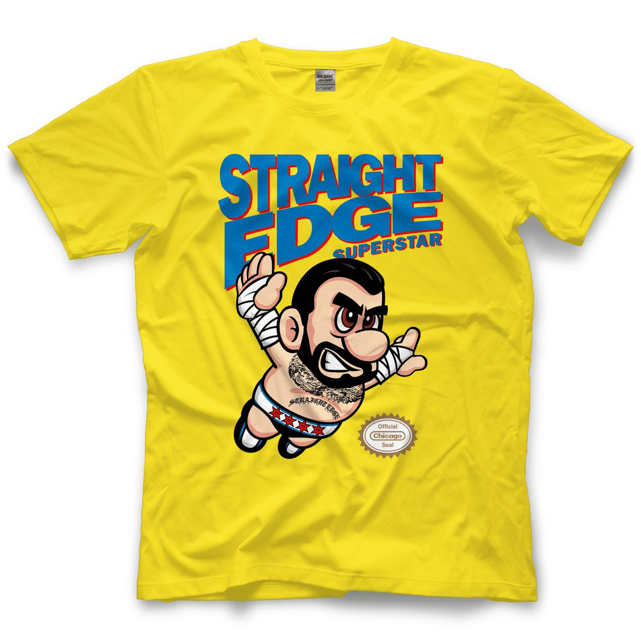 CM Punk Straight Edge Superstar John Cena SummerSlam 2021 Copy T-Shirt
