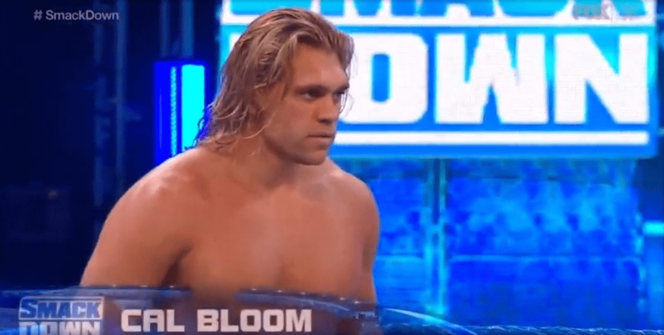 Cal Bloom on WWE SmackDown after WrestleMania 36