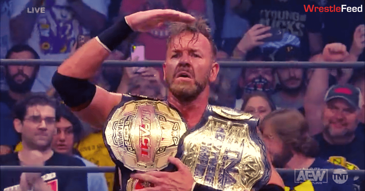 Christian Cage defeats Kenny Omega on AEW Rampage to win the TNA Impact Wrestling World Championship WrestleFeed App