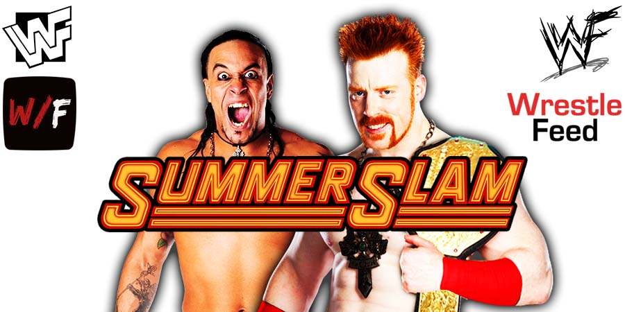Damian Priest defeats Sheamus at SummerSlam 2021 WrestleFeed App