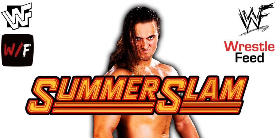 Drew McIntyre SummerSlam 2021 WrestleFeed App