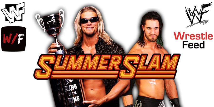 Edge defeats Seth Rollins at WWE SummerSlam 2021 WrestleFeed App