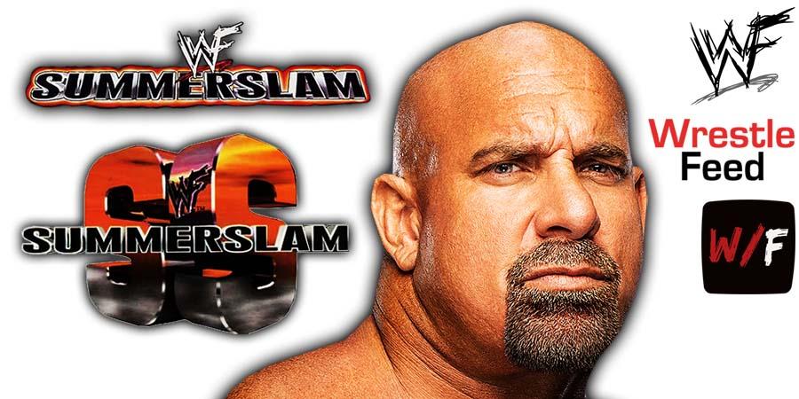 Goldberg SummerSlam 2021 WrestleFeed App