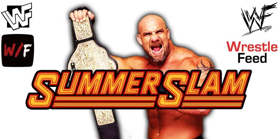 Goldberg WWE SummerSlam 2021 WrestleFeed App