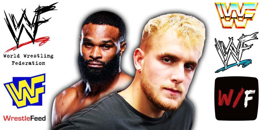 Jake Paul beats Tyron Woodley WrestleFeed App
